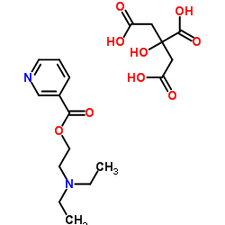 2-(DiethylaMino)ethyl nicotinate 2-hydroxypropane-1,2,3-tricarboxylate
