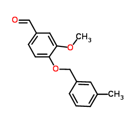 3-Methoxy-4-[(3-methylbenzyl)oxy]benzaldehyde