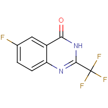 6-fluoro-2-trifluoromethyl-3H-quinazolin-4-one