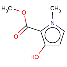 1H-Pyrrole-2-carboxylic acid, 3-hydroxy-1-methyl-, methyl ester