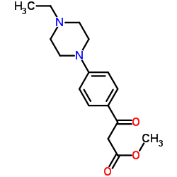 methyl 3-(4-(4-ethylpiperazin-1-yl)phenyl)-3-oxopropanoate