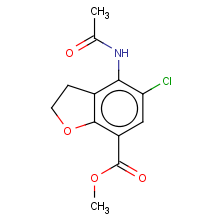 methyl 4-acetamido-5-chloro-2,3-dihydrobenzofuran-7-carboxylate