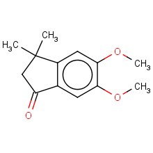 2,3-dihydro-5,6-dimethoxy-3,3-dimethyl-1H-inden-1-one