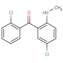 2',5-dichloro-2-methylaminobenzophenone