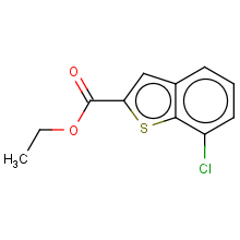 ethyl 7-chlorobenzothiophene-2-carboxylate